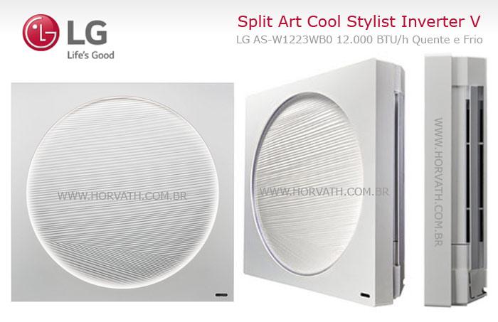 Ar Condicionado LG Split Art Cool Stylist Inverter V