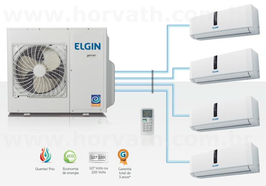 Ar Condicionado Multi Split Inverter Elgin