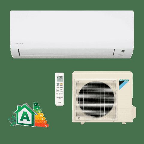 Conjunto Ar Condicionado Split Hi-Wall Inverter Daikin 18000 Btus Frio Advance 220v FTK18P5VL | RK18P5VL