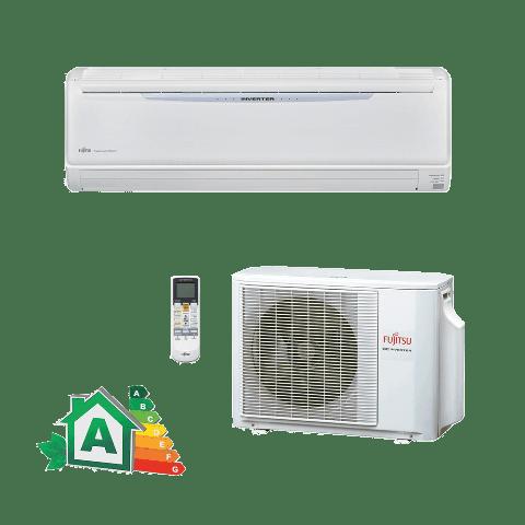 Conjunto-Ar Condicionado-Split-Hi-Wall-Inverter-Fujitsu-24000-Btus-Frio-220v-ASBA24JMCA-AOBR24JMLA