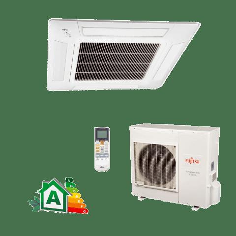 Conjunto-Ar-Condicionado-Split-Cassete-Inverter-Fujitsu-32000-Btus-Quente-Frio-220v-AUBA36LCL-AOBA36LFTL