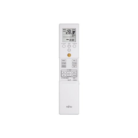 Controle Remoto Ar Condicionado Split Hi Wall Inverter Fujitsu 12000 Btus Quente e Frio  220v ASBG12LMCA-BR | AOBG12LMCA