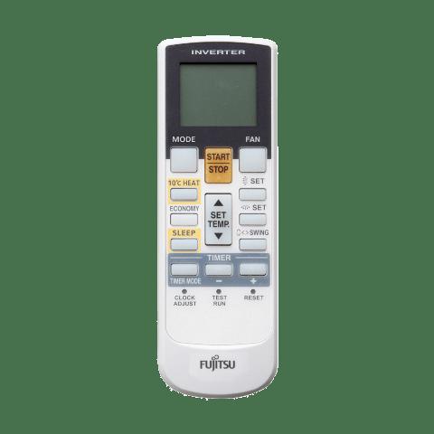 Controle Remoto Evaporadora Multi Split Cassete 4 Vias Inverter 12000 Btus Fujitsu Quente e Frio 220v AUBG12LVLA