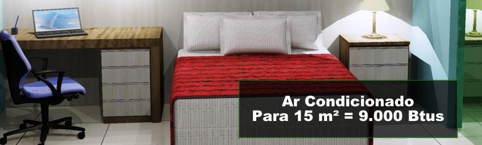 Ar Condicionado 15 m²