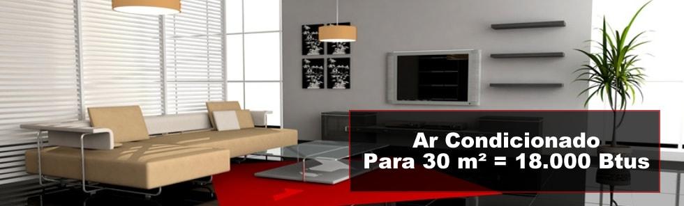 Ar Condicionado 30 m²