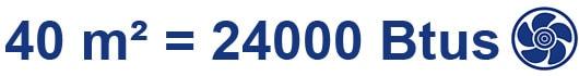 Ar Condicionado Bosch para 40 m²