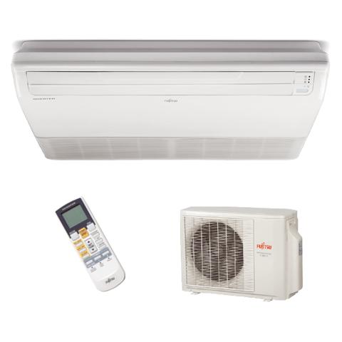 Conjunto-Ar-Condicionado-Split-Piso-Teto-Fujitsu-Inverter-23000-Btus-Quente-Frio-220v-ABBF24LAT-AOBA24LALL