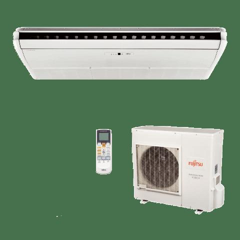 Conjunto-Ar-Condicionado-Split-Piso-Teto-Fujitsu-Inverter-2900-Btu-Quente-Frio-220v-ABBA30LCT-AOBA30LFTL