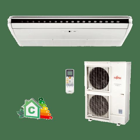 Conjunto-Ar-Condicionado-Split-Piso-Teto-Inverter-Fujitsu-42000-Btus-Quente-Frio-220v-ABBG45LRTA-AOBG45LBTA