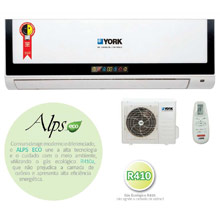 Ar Condicionado Split Hi Wall Alps York 7000 BTU Frio