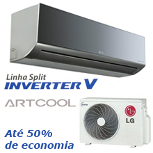 Ar Condicionado Split Art Cool Inverter Libero 9000 Btus Frio