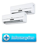 Bi Split Elgin 2x9000 BTU Frio