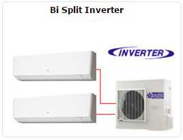 Ar Condicionado Bi Split Inverter 02 Ambientes Duplo Dual