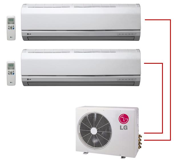 Ar Condicionado Bi Split LG