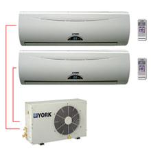 Ar Condicionado Bi Split 2x9000 BTU York Atlas