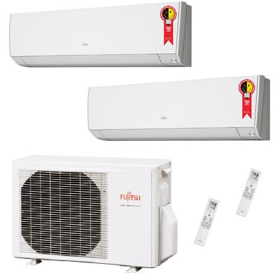 Ar Condicionado Bi Split Inverter fujitsu 14000 Btus Quente e Frio