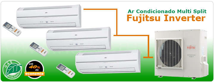Ar Condicionado Multi Split Fujitsu Inverter
