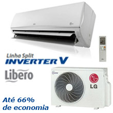 Ar Condicionado Split Inverter LG Libero R