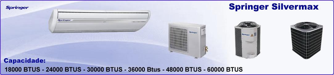 Ar Condicionado Split Piso Teto 24000 BTU Springer