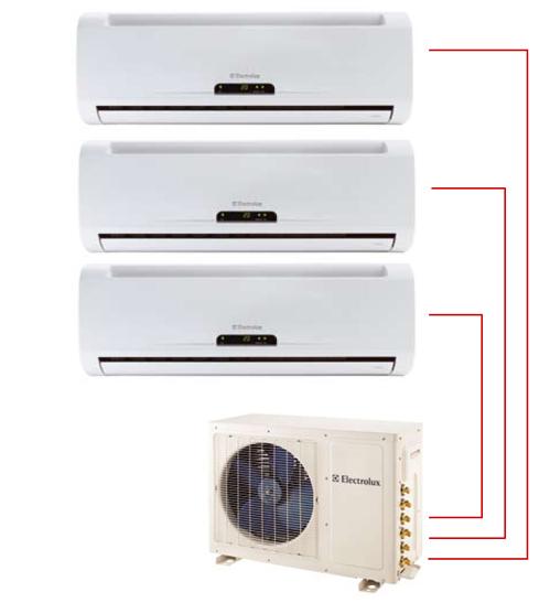 Ar Condicionado Tri Split Electrolux