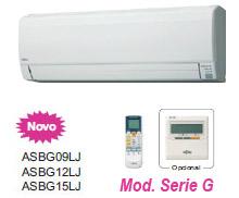 Ar Condicionado Fujitsu Split Wall Inverter - Serie G - 9000 BTUS Quente e Frio