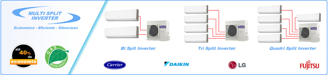 Ar Condicionado Multi Split Inverter