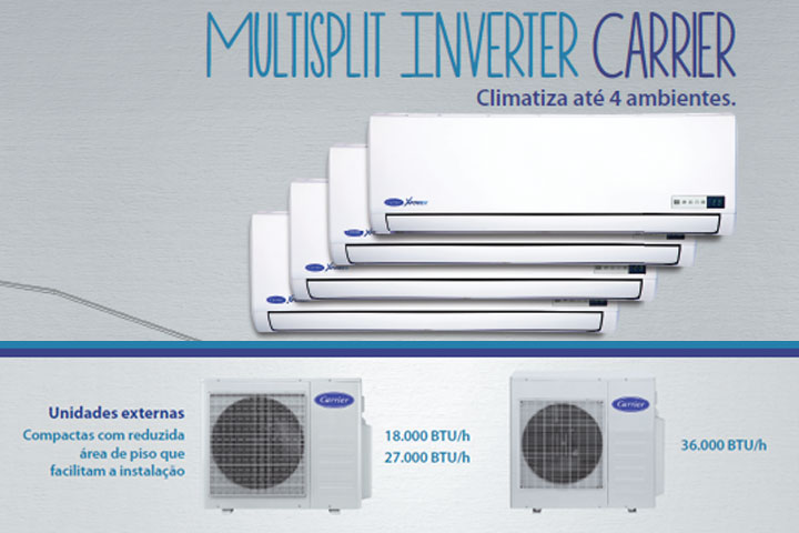 Ar Condicionado Multi Inverter Carrier