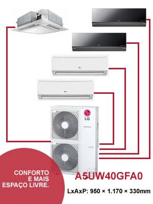 Ar Condicionado Quinto Split LG Inverter
