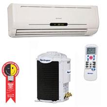 Ar Condicionado Split Hi Wall Springer - Maxiflex 38k - Condensadora Vertical - 38K